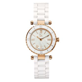 GC MiniChic Ladies' Rose Gold Plated Bracelet Watch - Product number 8402396