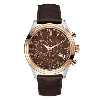 GC Smart Class Men's Two Colour Chronograph Strap Watch - Product number 8402426