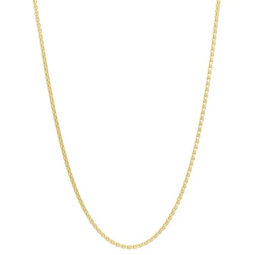 9ct Yellow Gold 20 Inch Spiga Chain - Product number 8404356