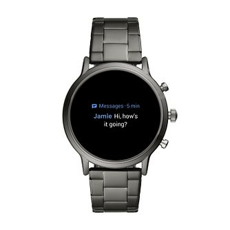 Fossil The Carlyle HR Gen 5 Men's Stainless Steel Smartwatch - Product number 8407789