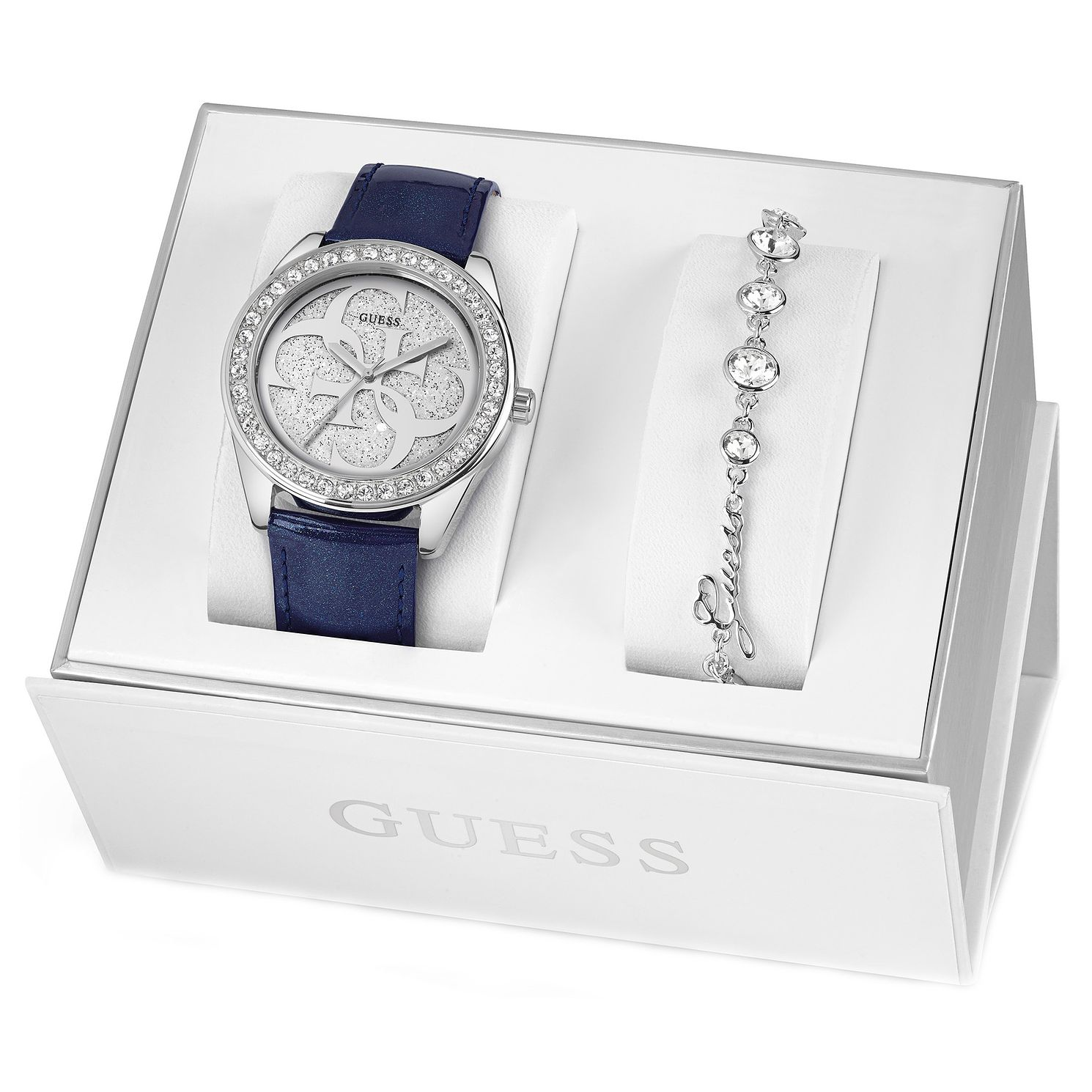 Guess Ladies' Watch & Bracelet Gift Set - Product number 8407878
