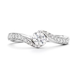 Tolkowsky Platinum 1/3ct Diamond Ring - Product number 8411719