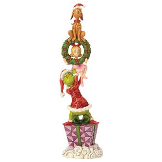 Dr Seuss Stacked Grinch Figurine - Product number 8415072