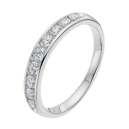 Tolkowsky Platinum 1/4ct I-I1 Diamond Ring - Product number 8416915