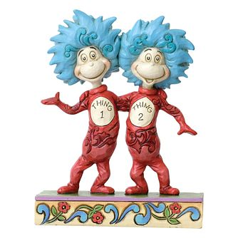 Dr Seuss Thing 1 & Thing 2 Figurine - Product number 8418640