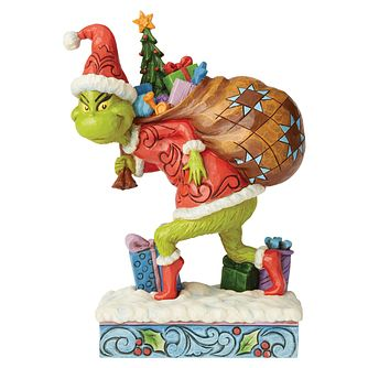 Dr Seuss Tiptoe Grinch Figurine - Product number 8418780
