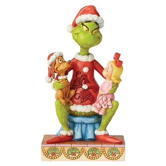 Dr Seuss Grinch With Cindy & Max Figurine - Product number 8418845