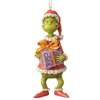 Dr Seuss Grinch's Present Hanging Ornament - Product number 8418888
