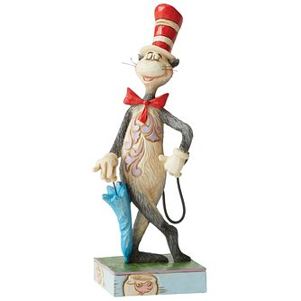 Dr Seuss Cat In The Hat Umbrella Figurine - Product number 8418896