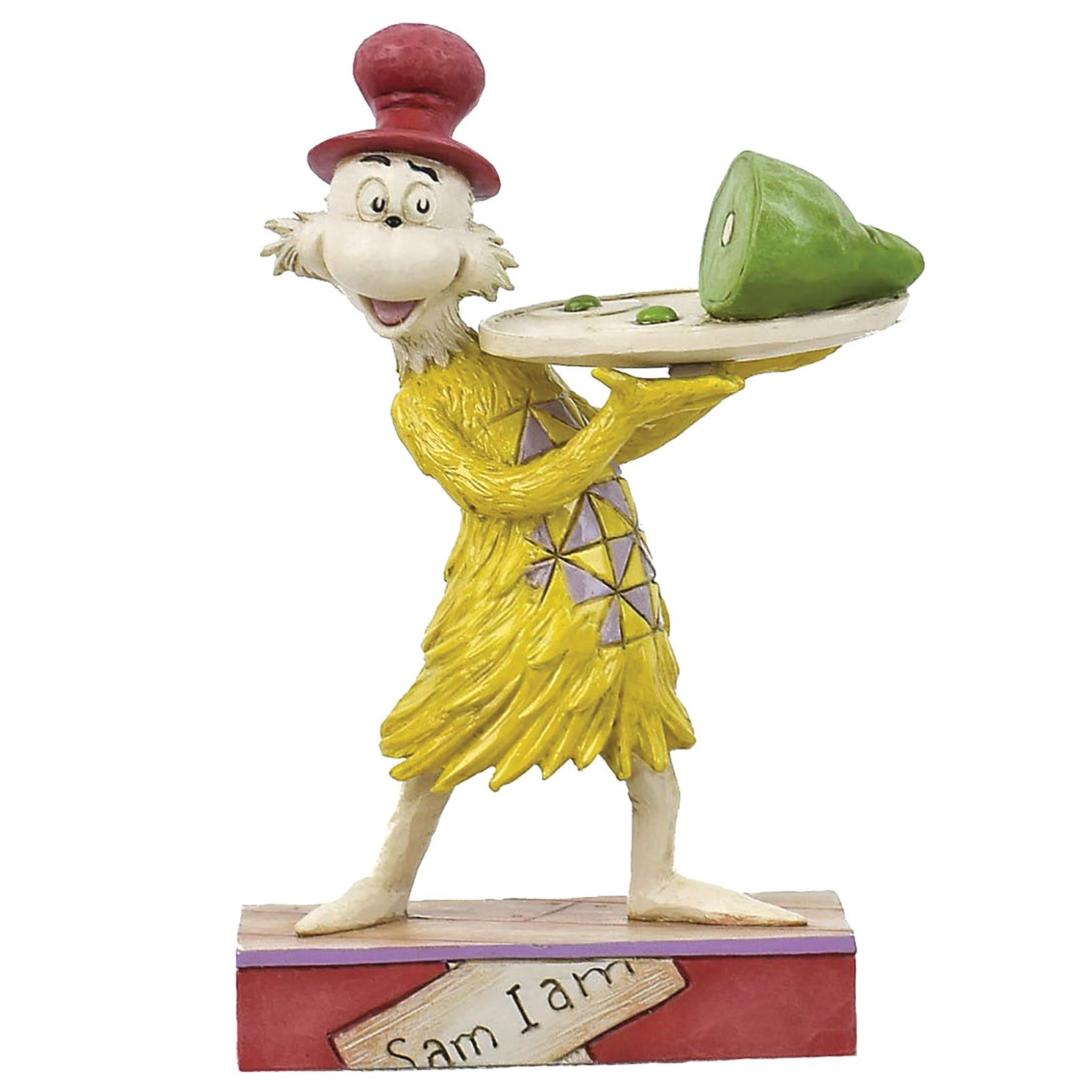 Dr Seuss Green Eggs And Ham Sam I Am Figurine - Product number 8418918