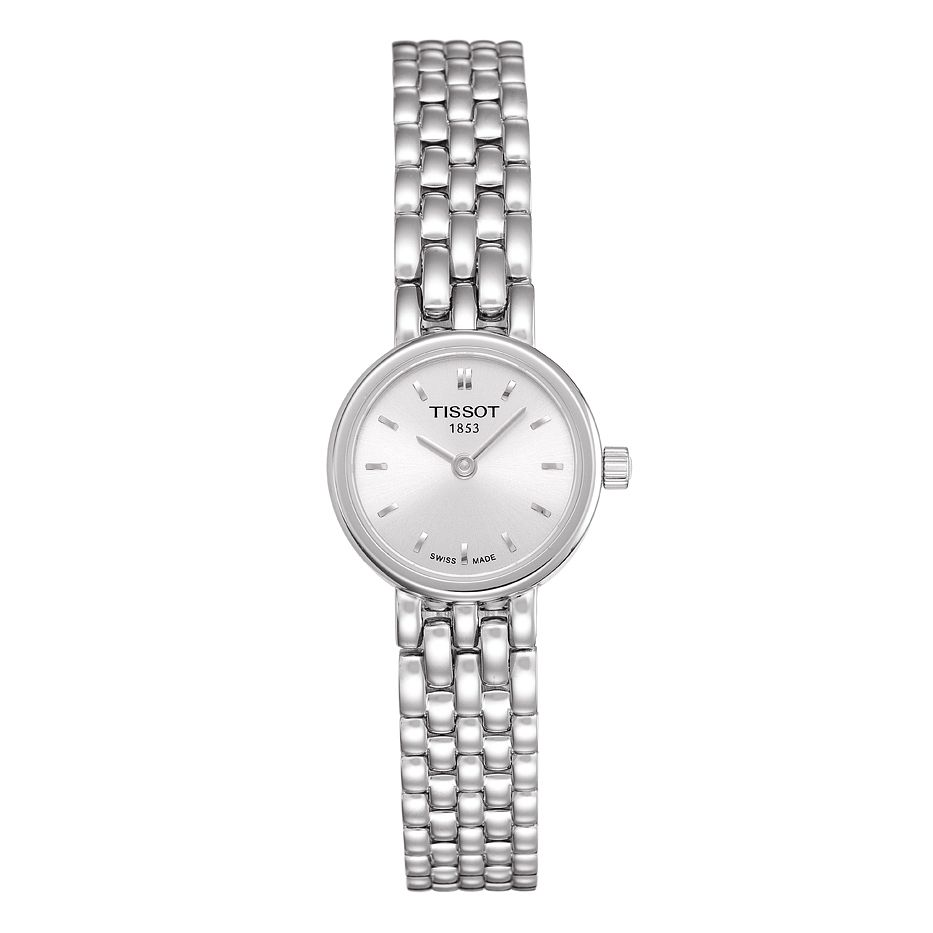 Tissot Ladies' Silver Dial Stainless Steel Bracelet Watch - Product number 8419388