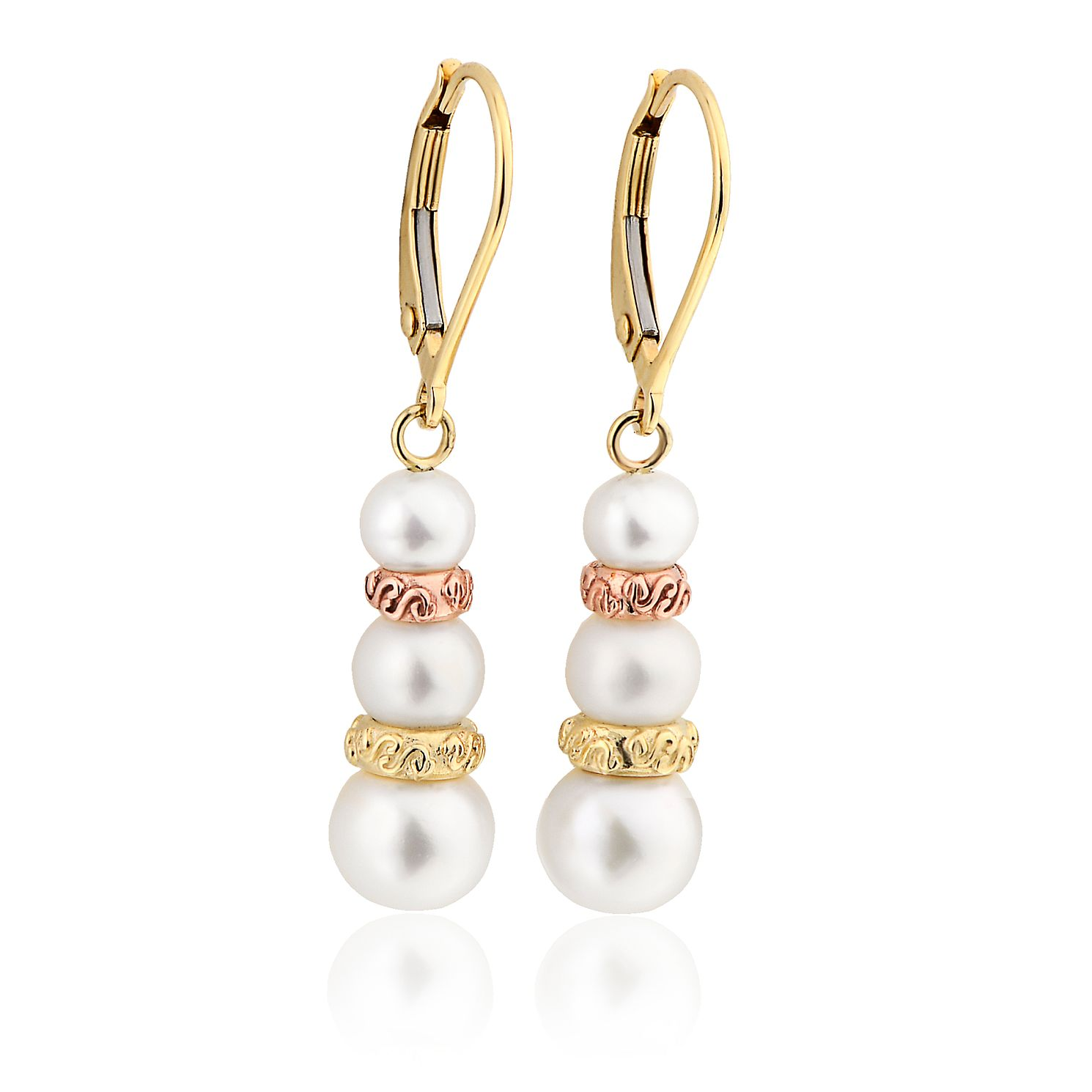 Clogau 9ct Gold Tree Of Life Pearl Drop Earrings - Product number 8423288