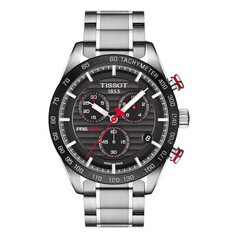 Tissot Prs516 Men's Stainless Steel Black Dial Watch - Product number 8424721