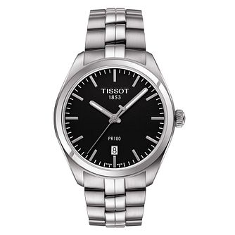 Tissot PR100 Men's Stainless Steel Bracelet Watch - Product number 8424748