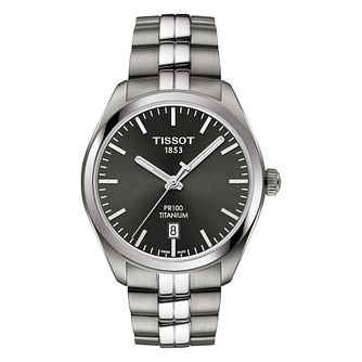 Tissot Pr100 Men's Titanium Bracelet Watch - Product number 8424780