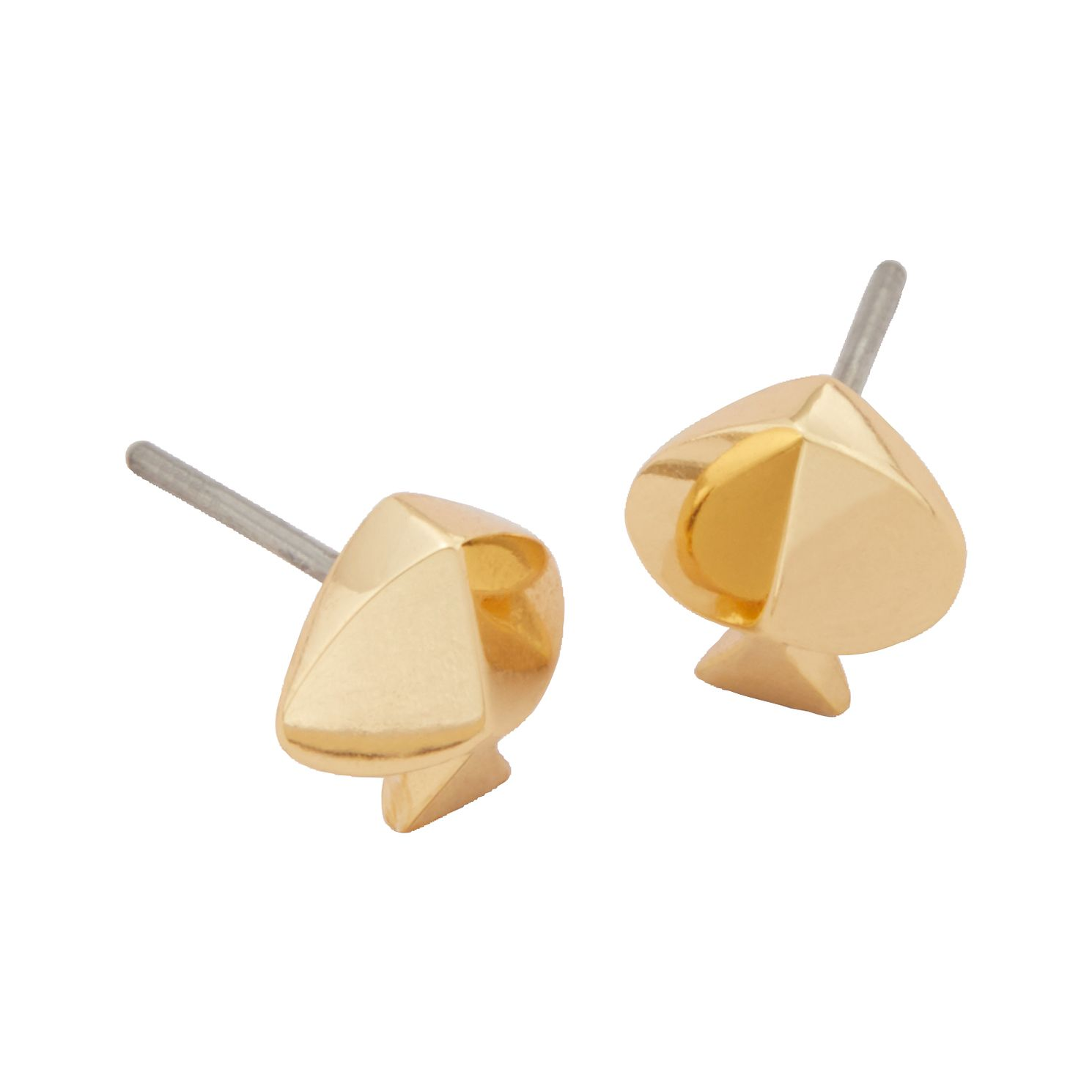 Kate Spade Gold Tone Legacy Logo Spade Stud Earrings - Product number 8425418
