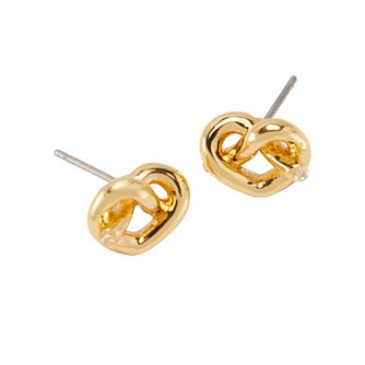 Kate Spade Gold Tone Loves Me Knot Stud Earrings - Product number 8425493