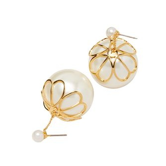 Kate Spade Gold Tone Pearlette Drop Earrings - Product number 8425639
