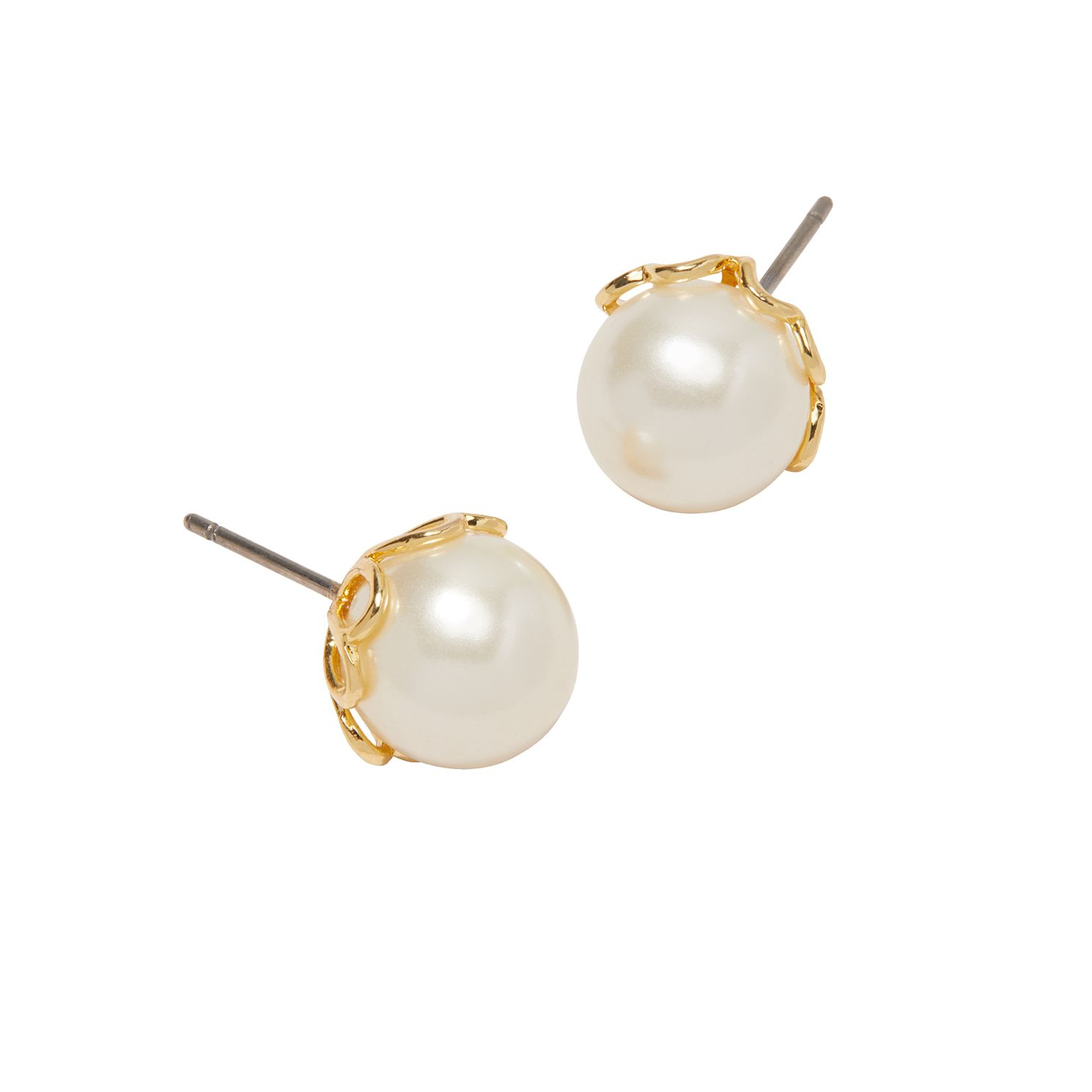 Kate Spade Gold Tone Pearlette Stud Earrings - Product number 8425760