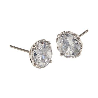 Kate Spade Rhodium Plated That Sparkle Stone Set Earrings - Product number 8426104
