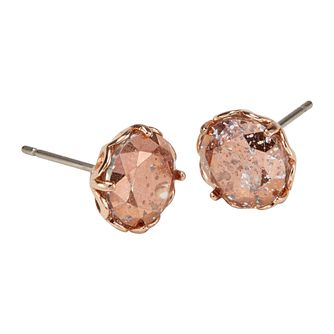 Kate Spade Rose Gold Tone That Sparkle Stud Earrings - Product number 8429278