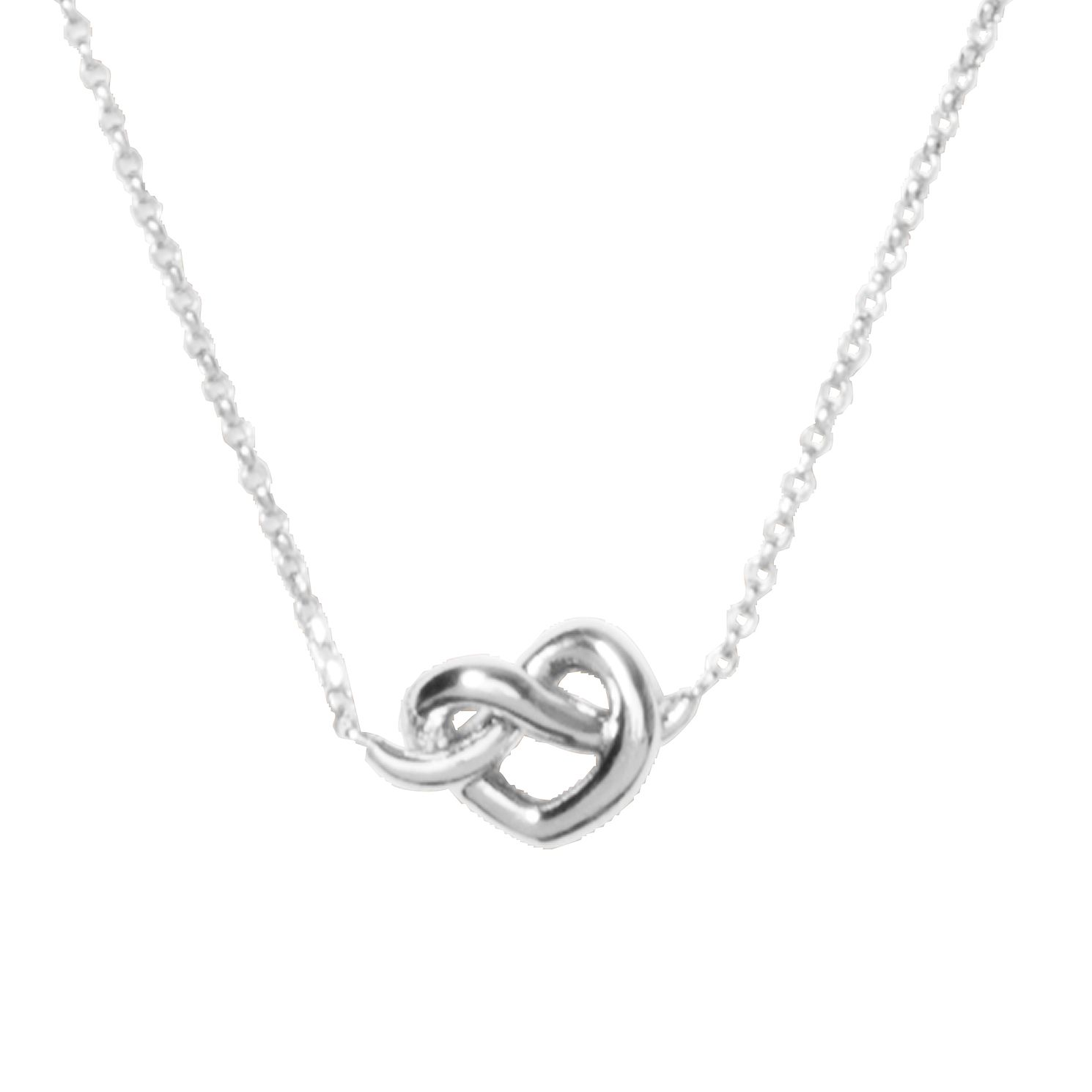 Kate Spade Rhodium Plated Loves Me Knot Pendant - Product number 8431477