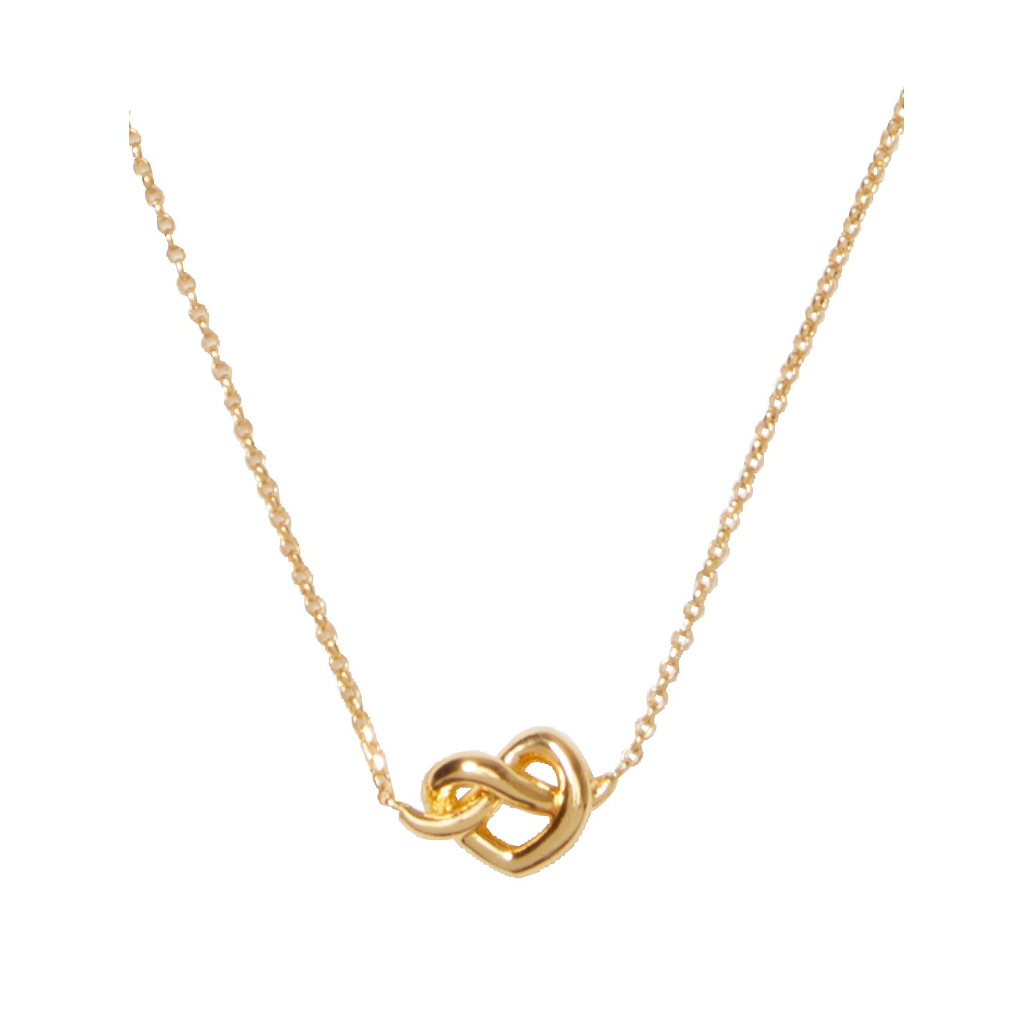 Kate Spade Gold Tone Loves Me Knot Pendant - Product number 8431485