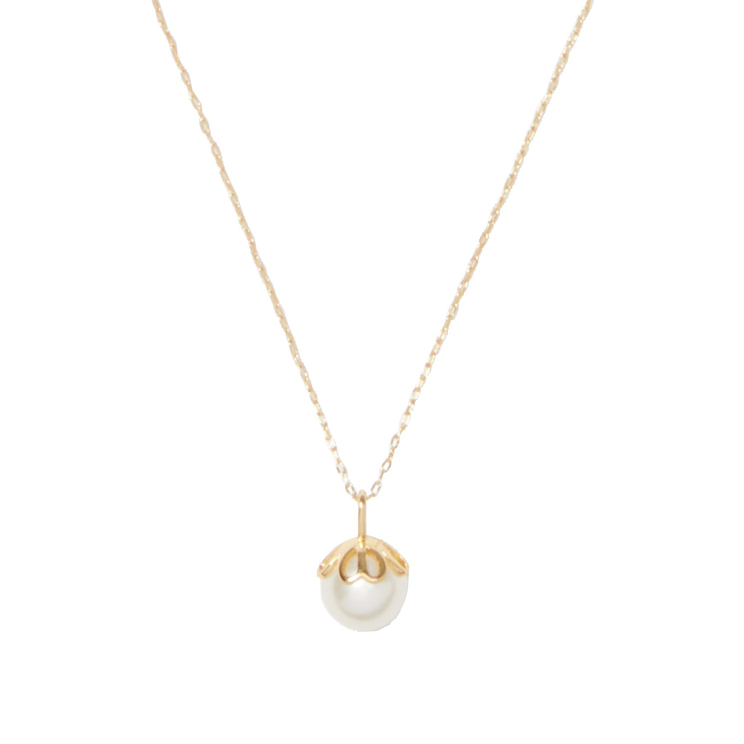 Kate Spade Gold Tone Pearlette Pendant - Product number 8431523