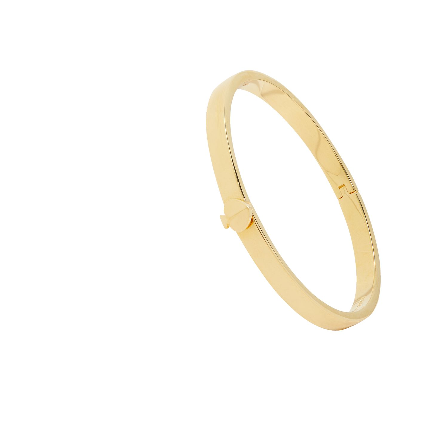 Kate Spade Gold Tone Heritage Spade Thin Button Bangle - Product number 8432074