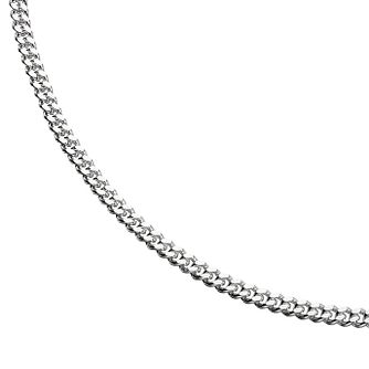 "Sterling Silver 24"" Curb Chain - Product number 8432732"