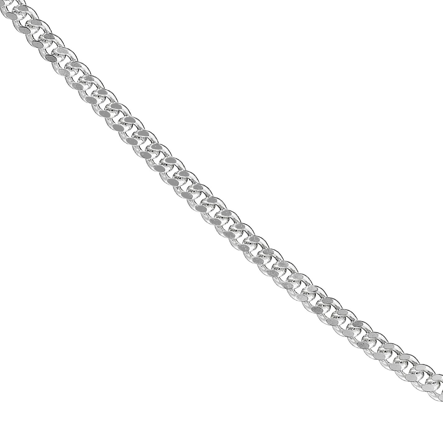 Sterling Silver 18 Inch Curb Chain - Product number 8432767