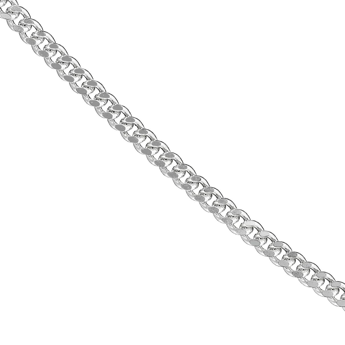 Sterling silver 20 inches curb chain - Product number 8432775