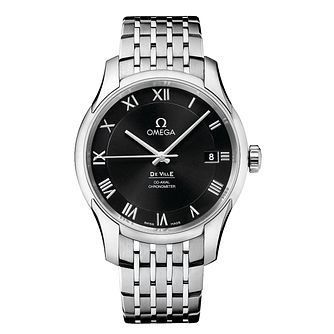 Omega De Ville men's black watch - Product number 8442967