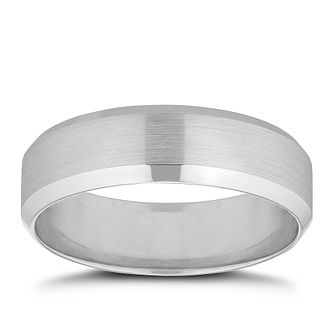 9ct White Gold 6mm Wedding Ring - Product number 8445141
