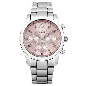 Lipsy Crystal Ladies' Stainless Steel Bracelet Watch - Product number 8468036