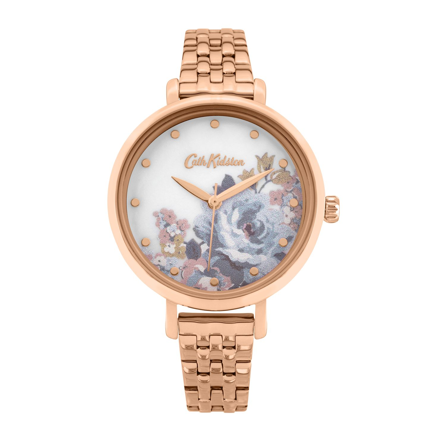 Cath Kidston Ladies' Rose Gold Bracelet Watch - Product number 8468451