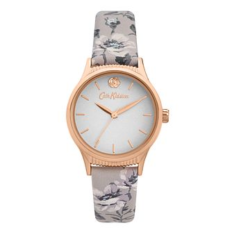 Cath Kidston Pembroke Rose Ladies' Floral PU Strap Watch - Product number 8468494