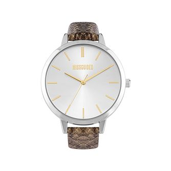Missguided Ladies' Snakeskin Pattern PU Strap Watch - Product number 8468664