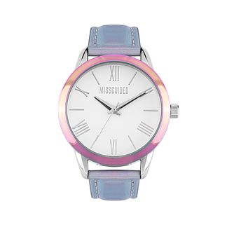 Missguided Ladies' Iridescent PU Strap Watch - Product number 8468672