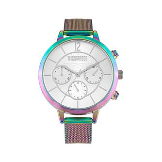 Missguided Ladies' Multi-Dial Iridescent Mesh Bracelet Watch - Product number 8468737
