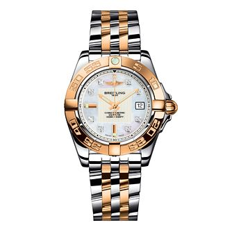 Breitling Galactic 32 ladies' two-tone bracelet watch - Product number 8468869