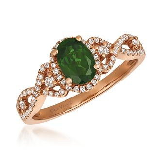 Le Vian 14ct Strawberry Gold Diopside Diamond Ring - Product number 8502501