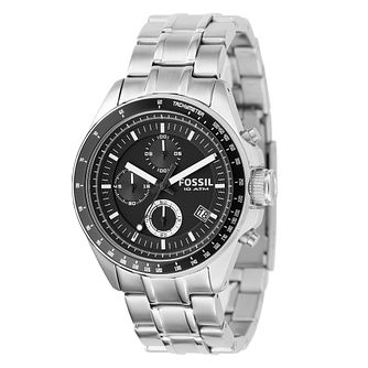 Fossil Men's Chronograph Stainless Steel Bracelet Watch - Product number 8518173