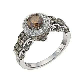 Le Vian 14ct White Gold 1.23ct Chocolate Diamond Ring - Product number 8542872