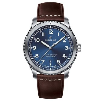 Breitling Navitimer 8 Men's Blue Dial Strap Watch - Product number 8561354