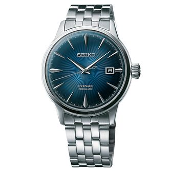 Seiko Presage Men's Stainless Steel Bracelet Watch - Product number 8570582