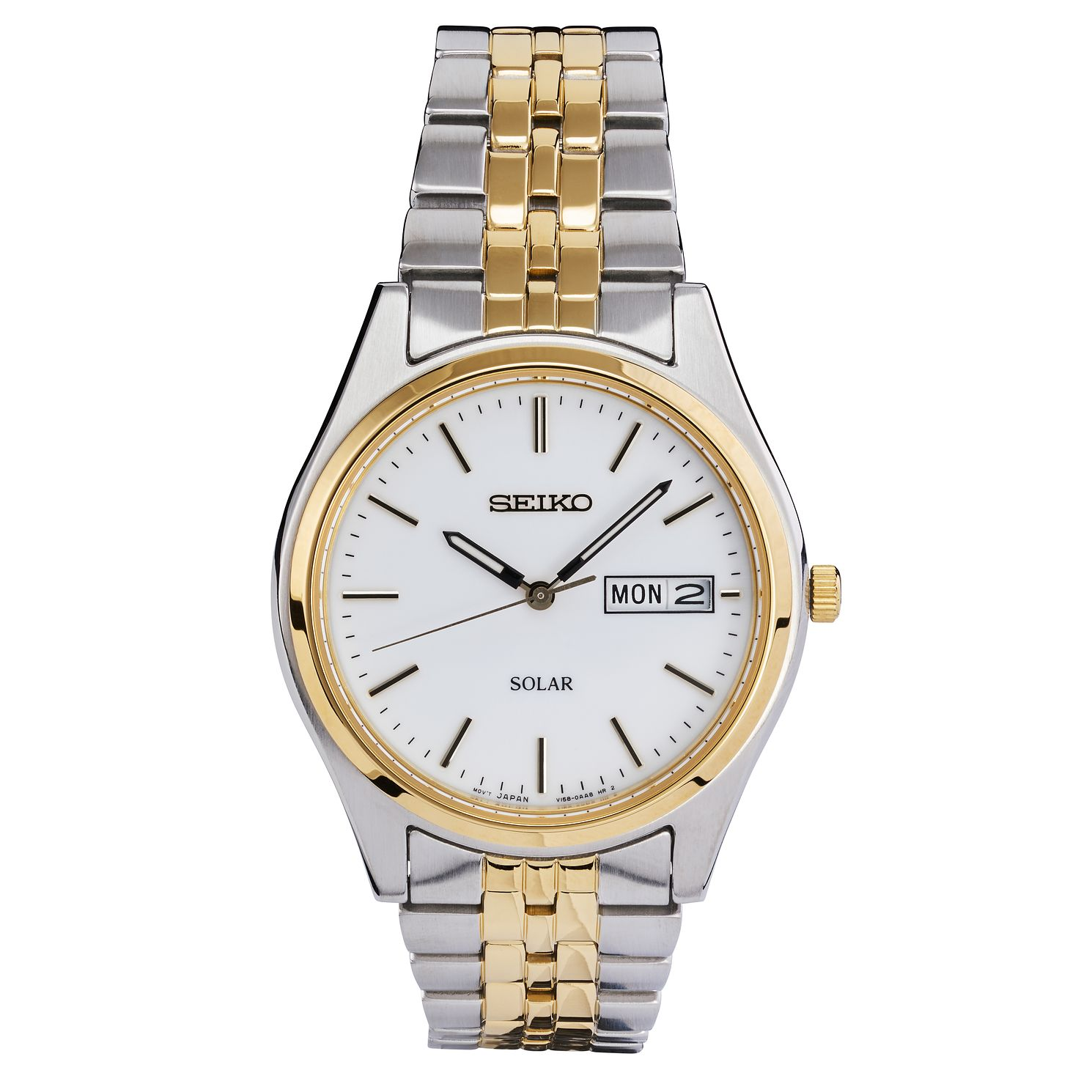 Seiko Men's Two Tone Bracelet Watch - Product number 8584214
