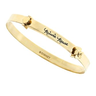Disney Children's Minnie Mouse Gold Plated Expander Bangle - Product number 8590605