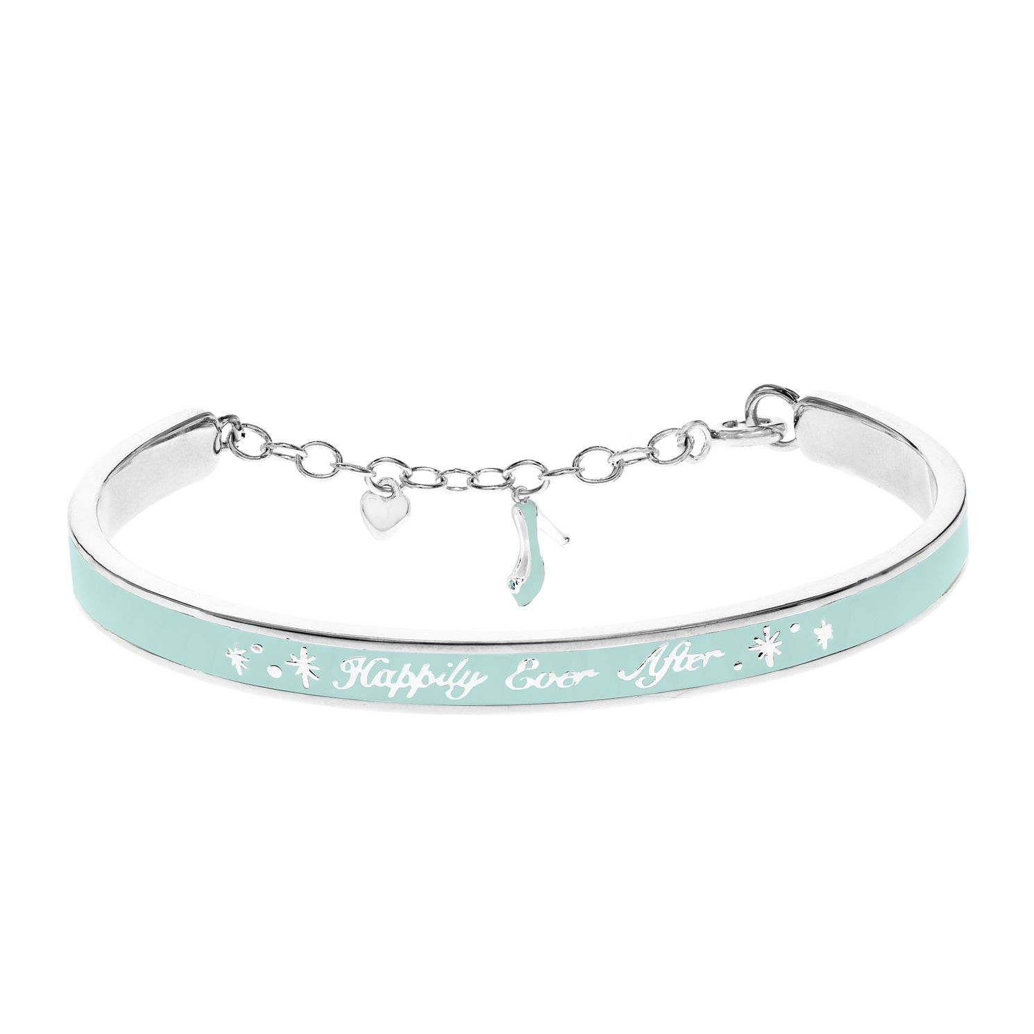 Disney Children's Cinderella Silver & Crystal Bangle - Product number 8590613