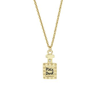 Disney Children's Tinker Bell Gold Plated Crystal Pendant - Product number 8591156